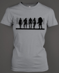 Arcane Store: Mass Effect Suspects Girls Fit Gaming T Shirt For £19.99