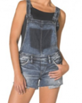 Silver Jeans: $95 For Shortall Dark Wash