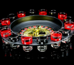 BoardwalkBuy: 65% Off Shot Glass Roulette Set Novelty Drinking Game With 16 Shot Glasses