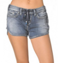 Silver Jeans: $80 For Aiko Mid Short Medium Wash