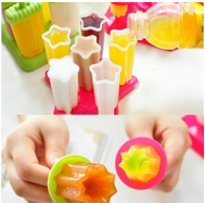 Banggood Popsicle Molds: 6Pcs DIY Ice Cream Frozen Popsicle Mold Block Juice Lolly Tray For $4.99