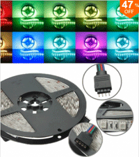 Banggood LED Strip Lights: 47% Off + Free Shipping