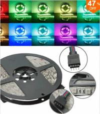 Banggood LED Strip Lights: 47% Off + Free Shipping