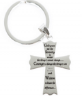 Rush Industries: Serenity Prayer Cross Keychain At Just $26