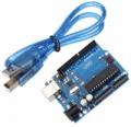 Banggood Arduino UNO: Arduino-Compatible R3 UNO ATmega16U2 AVR USB Board For $7.15