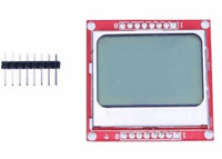 Banggood Arduino UNO: Nokia 5110 LCD Module White Backlight For Arduino UNO Mega Prototype For $3.58