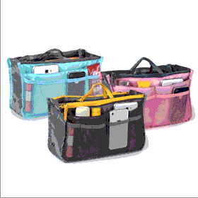 BoardwalkBuy: 92% Off Slim Bag-in-Bag Purse Organizer - Assorted Colors
