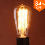 Banggood Edison Bulbs: 34% Off  + Free Shipping