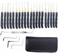 Banggood Lock Pick Set: Goso 24pcs Single Hook Lock Pick Set Locksmith Tools Lock Pick Kit For $15.22
