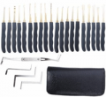 Banggood Lock Pick Set: Goso 24pcs Single Hook Lock Pick Set Locksmith Tools Lock Pick Kit For $15.22