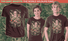 TeeFury: King In The Woodland Realm T-shirt For $20