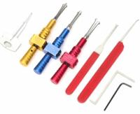 Banggood Lock Pick Set: 8Pcs 6.0 6.5 7.0 Locksmith Key Lock Pick Tools Set For $18.88