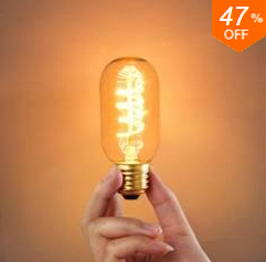 Banggood Edison Bulbs: 47% Off  + Free Shipping