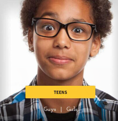 Zenni Optical: Shop For Kids Large Frames Eyeglasses