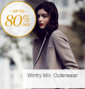 Gilt: 80% Off Wintery Mix Outerwear