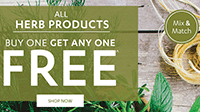 Vitamin World: BOGO Free Off Herbs + Free Shipping
