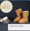 Gilt: 80% Off Wintery Mix Boots