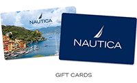 Nautica: Gift Cards From $25 + Free Shipping