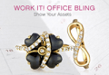 Emitations: 50% Off Office Bling