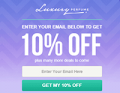 Luxury Perfume: Enter Your Email To Get 10% Off Your Purchase