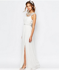 Asos: TFNC Bridal Maxi Dress With Embellishment