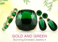 Emitations: 50% Off Gold And Green