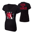 "WWE Shop: Stephanie McMahon ""Steph For Business"" Women's V-Neck Authentic T-Shirt"