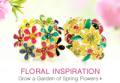Emitations: 50% Off Floral Inspiration