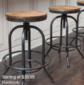 Ashley Homestore: Barstools Starting At $39.99