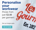 Alexandra: Personalise Your Workwear
