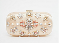 Asos: ASOS Jewelled Box Clutch Bag