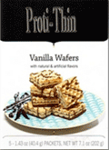 Nashua Nutrition: 17% Off Proti-Thin Protein Wafer Squares - Vanilla (5/Box, 2 Squares/Serving)