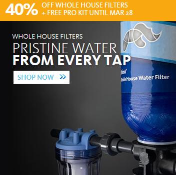 Aquasana: 40% Off