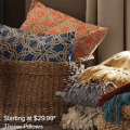 Ashley Homestore: Throw Pillows Starting At $29.99