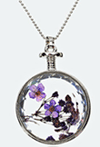 Newchic: Glass Pandent Necklace: 49% Off