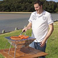 Innovations: 58% Off Stainless Steel BBQ With Bag