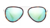 Taylor Morris Eyewear: Women's Voyager Cheetah Eyeglasses For £160