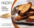 Nashua Nutrition: 28% Off Proti-Thin Parisian Toast - Plain (6 Packets/Box)