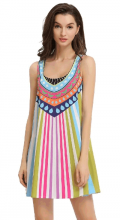 Chicuu: 26% Off Trendy Print Boho Tank Summer Dress