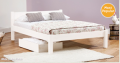 Get Laid Beds: White Knight Bed Was £193