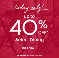 Ashley Homestore: 40% Off