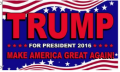 American Flags: 40% Off Donald Trump For President Flag