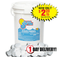 In The Swim: 3-Inch Chlorine Tablets For $2.09
