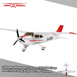 RCmoment: Extra 12% Off Sonicmodell Wingspan Cessna 182 500 Class Fixed-wing Airplane