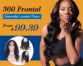 Best Hair Buy: 360 Lace Closure From $99.39