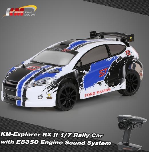 RCmoment: Extra 14% Off KM-Explorer RX II 1/7 RC Rally Car