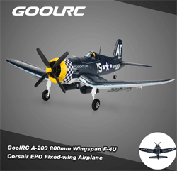 RCmoment: 42% Off GoolRC A-203 Mini Fixed-wing Airplane