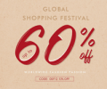 Rose Gal: 60% Off + 15% Off