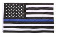American Flags: 24% Off Heavyweight Nylon Thin Blue Line US Flag