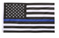 American Flags: 24% Off Heavyweight Nylon Thin Blue Line US Flag